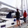 "The new WeatherMax80 'Silver' Bimini for ""Sabbaticus' (Ex Norman G III)"