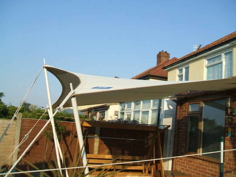 Sail shadesawnings for domestic and commercial use Dolphin Sails
