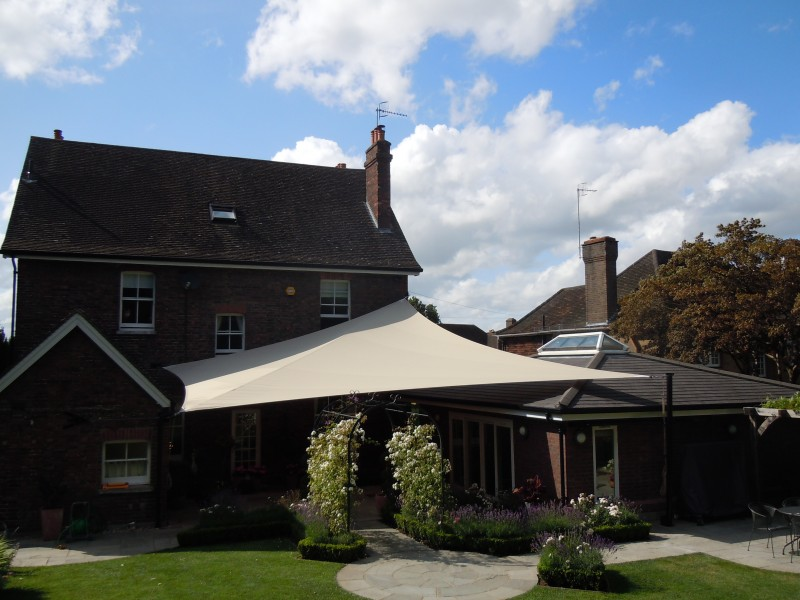 Sail shades/awnings for domestic and commercial use ...