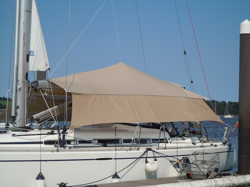 Tensile Awning Dolphin Sails